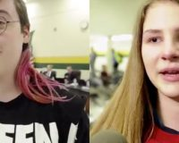 Female Student Holds Back Tears After School Decides To Let Transgenders Use Locker Rooms