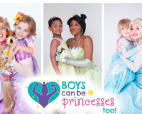 "Photographer Wants To Normalize Boys In Dresses Because ""Boys Can Be Princesses Too Project"""