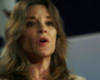 "Marianne Williamson Falls For Satire, Calls Trump's Fake Pardon Of Charles Manson ""Deeply Sinister"""