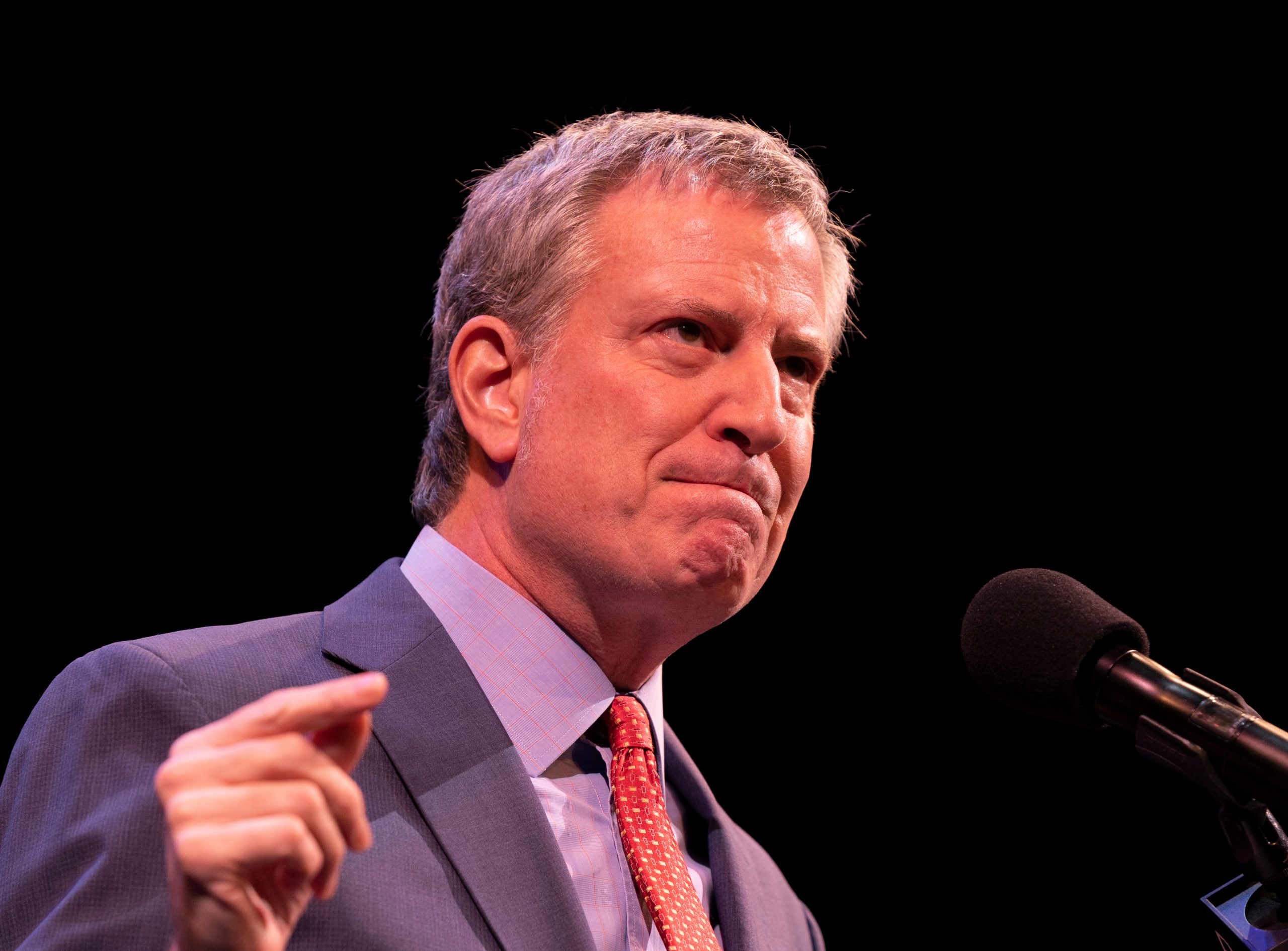 NYC Mayor De Blasio Tries To Stay Away From Mask Mandate, 'Strongly' Suggests Masks Indoors