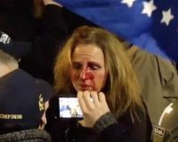Mom Punched In The Face At Capitol Rally Just Lost Her Job