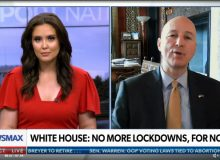 Nebraska Gov. Ricketts Says That Mask Mandates And Lockdowns Are 'Counterproductive'