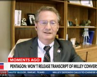 Rep. Burchett Says Gen. Mark Milley Might Have Violated Logan Act