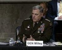 Gen. Mark Milley Tries To Defend Calls Made To China During Senate Armed Services Committee