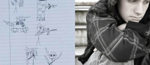 13-Year-Old Boy Suspended for Stick Figure Drawings With Swords